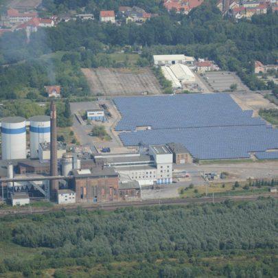 Solaranlage Delitzsch Fabrikstraße
