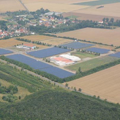 Solaranlage Wiesenena